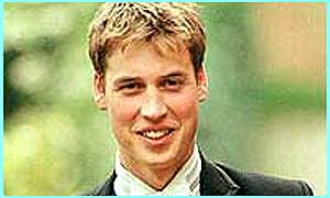 Prince William in second in line to the throne