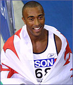 Record-breaking hurdler Colin Jackson