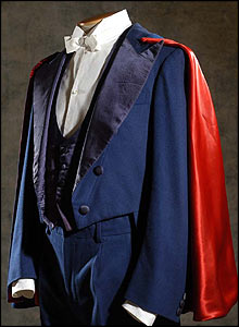 caped suit from Intervista