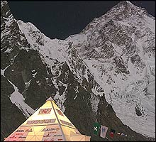 K2 Base camp in 2004