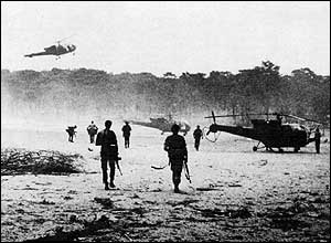 Rhodesian forces raid in Zambia