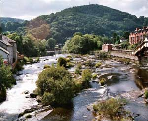 Llangollen, as sent by Ken Williams, from Kinmel Bay