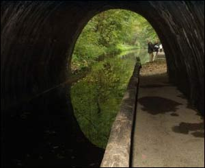A view of the Chirk Tunnel, captured by Mike Longworth
