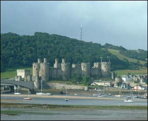 Jerry Engelbrecht, who lives in Essex, sent in this shot of Conwy Castle