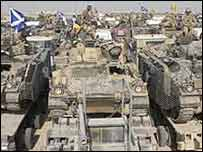 The Black Watch are moving in Iraq