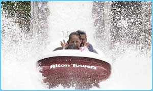 Ride at Alton Towers