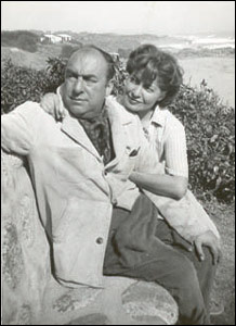 Pablo Neruda y Matilde Urrutia...!