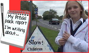 Shauna - her campaign made a local road safer