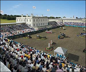 London's Greenwich park could be transformed for the equestrian competition.