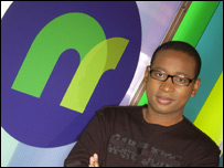 NR presenter Lizo Mzimba