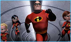 The Incredibles sold loads of tickets in the US