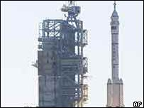 China successfully launched Shenzhou V into space in 2003