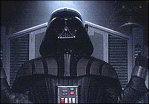 Here's what everyone's been waiting for - Darth Vader: mad, bad and dangerous to know!