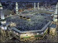 Millions of pilgrims attend the Hajj
