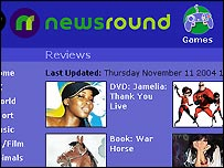 Newsround review section