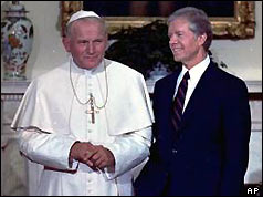 Pope John Paul and President Carter