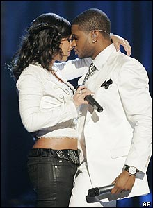Alicia Keys and Usher