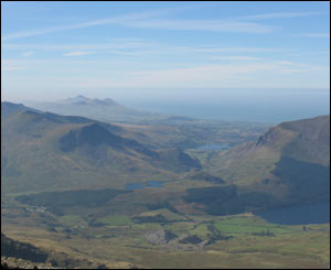 View from the top of Snowdon (Julian Raikes)