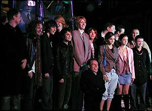 A group shot of the Azkaban cast