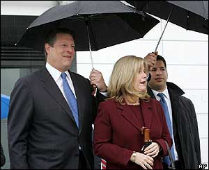 Al Gore and his wife Tipper