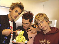 Busted with Pudsey bear