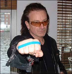 Bono is one of the huge stars behind the Radio 1 beat bullying campaign