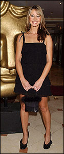 Here's Newsround's Ellie looking lovely as she arrives at The Baftas.