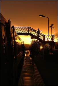 Richard Thomas took this shot of Machynlleth railway station while on a trip to climb Cader Idris