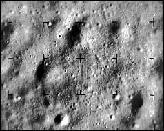 View of Moon from Ranger 9