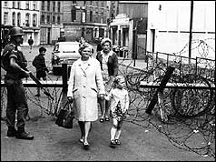 Image result for british troops arrive in northern ireland
