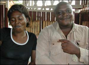 Translator Angels and driver Jerome made life easier in Cameroon