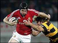 Michael Owen of the British and Irish Lions