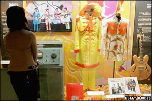 Inside the Lennon museum