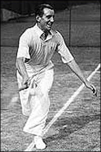Fred Perry was the last Brit to win the men's contest in 1936