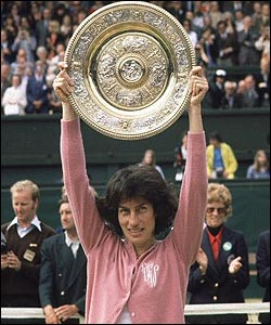 The last British woman to win the singles was Virginia Wade in the Queen's Silver Jubilee year, 1977