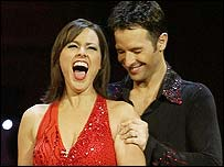 Jill is the winner of Strictly Come Dancing