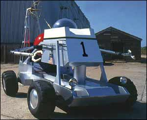 Moon buggy from Diamonds are Forever