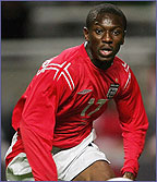 Shaun Wright-Phillips made his England debut in 2004