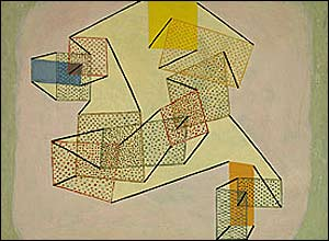 Hovering, 1930. Oil on canvas. Courtesy of Zentrum Paul Klee