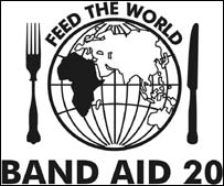 Band Aid 20's single Feed The World