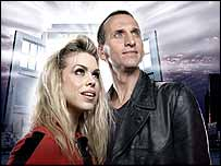 Christopher Ecclestone and Billie Piper