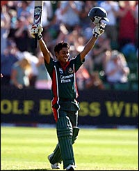 Ashraful gets a hatful of runs
