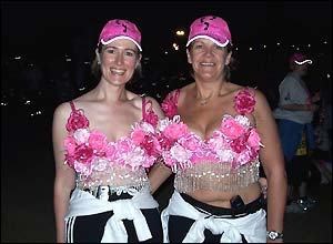 These two participantsu0027 bras were filled with tiny fairy lights  sc 1 st  BBC News & BBC NEWS | In Pictures | In pictures: Doing the Moonwalk