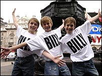 Billy Elliot actors