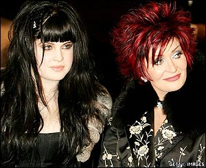 Kelly and Sharon Osborne
