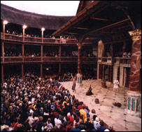 Inside Shakespeare's Globe Theatre (Picture: Donald Cooper)