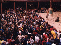 The audience at Shakespeare's Globe Theatre (Picture: Donald Cooper)