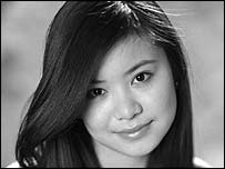 Katie Leung who plays Cho Chang (Pic courtesy of Warner Brothers)