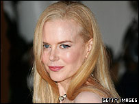 Nicole Kidman, who will be getting one of the first Uk stars