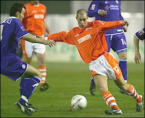 Danny Coid looks to break the deadlock at Bloomfield Road
